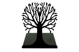 Fa könyvtámasz