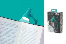 Mini asztali és könyvre csíptethető olvasólámpa