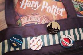 Harry Potter kitűző csomag