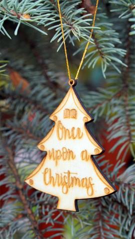 Könyvimádó karácsonyfadísz csomag