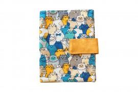 Kék macskák könyvkabát