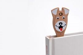 Animal Flexilight Kutya könyvjelző olvasólámpa