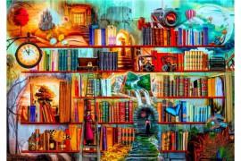 Könyvespolcok birodalma puzzle 1500 db