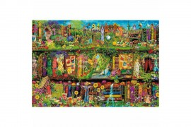 Mesélő könyvespolc puzzle 1500 db