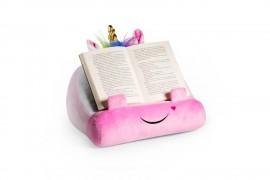 Unikornis plüss könyvkanapé
