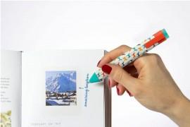 Könyvjelző toll - kutyás